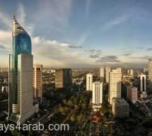 المعالم و الاماكن السياحية بإندونيسيا