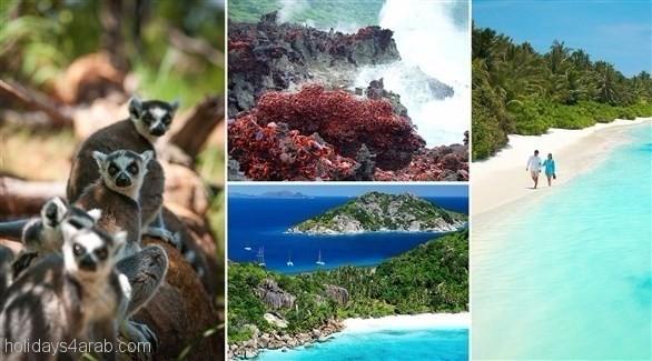 أهم و أشهر الجزر السياحية في المحيط الهندي