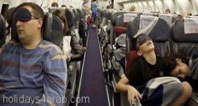 نصائح للتأقلم مع رحلات الطيران الطويلة