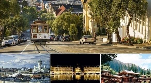 أفضل 8 مدن للنزهات سيراً على الأقدام