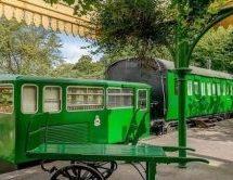 قطار عمره 100 عام يتحول إلى فندق فاخر